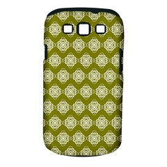 Abstract Knot Geometric Tile Pattern Samsung Galaxy S Iii Classic Hardshell Case (pc+silicone)