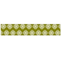 Abstract Knot Geometric Tile Pattern Flano Scarf (large)