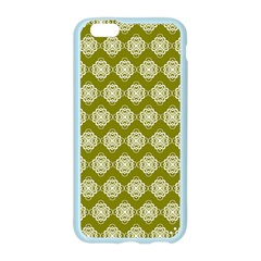 Abstract Knot Geometric Tile Pattern Apple Seamless iPhone 6 Case (Color)