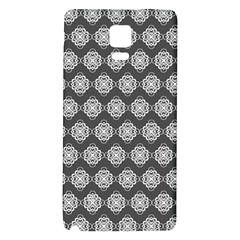 Abstract Knot Geometric Tile Pattern Galaxy Note 4 Back Case