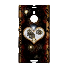 Steampunk, Awesome Heart With Clocks And Gears Nokia Lumia 1520
