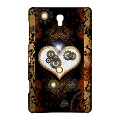 Steampunk, Awesome Heart With Clocks And Gears Samsung Galaxy Tab S (8.4 ) Hardshell Case
