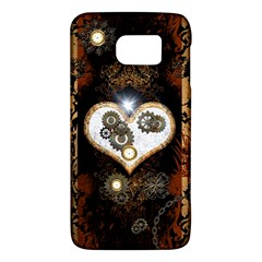 Steampunk, Awesome Heart With Clocks And Gears Galaxy S6