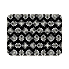 Abstract Knot Geometric Tile Pattern Double Sided Flano Blanket (mini)