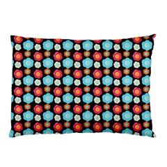 Colorful Floral Pattern Pillow Cases
