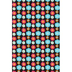Colorful Floral Pattern 5.5  x 8.5  Notebooks
