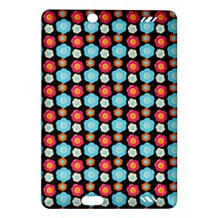 Colorful Floral Pattern Kindle Fire Hd (2013) Hardshell Case