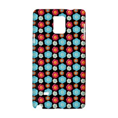 Colorful Floral Pattern Samsung Galaxy Note 4 Hardshell Case