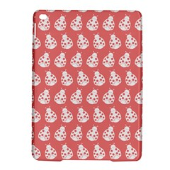 Coral And White Lady Bug Pattern Ipad Air 2 Hardshell Cases
