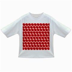 Red Peony Flower Pattern Infant/Toddler T-Shirts