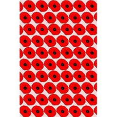 Red Peony Flower Pattern 5 5  X 8 5  Notebooks