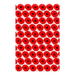 Red Peony Flower Pattern Shower Curtain 48  X 72  (small)