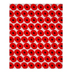 Red Peony Flower Pattern Shower Curtain 60  x 72  (Medium)