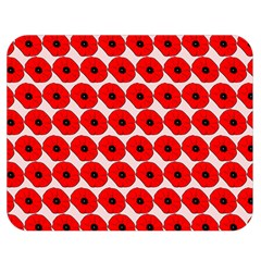 Red Peony Flower Pattern Double Sided Flano Blanket (medium)