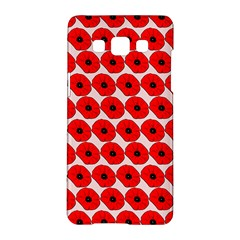 Red Peony Flower Pattern Samsung Galaxy A5 Hardshell Case