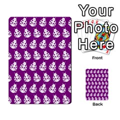 Ladybug Vector Geometric Tile Pattern Multi Purpose Cards (rectangle)