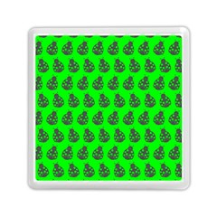 Ladybug Vector Geometric Tile Pattern Memory Card Reader (Square)