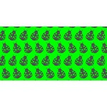 Ladybug Vector Geometric Tile Pattern BEST BRO 3D Greeting Card (8x4)  Back