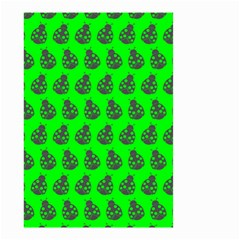 Ladybug Vector Geometric Tile Pattern Small Garden Flag (two Sides)