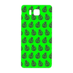 Ladybug Vector Geometric Tile Pattern Samsung Galaxy Alpha Hardshell Back Case