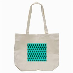 Ladybug Vector Geometric Tile Pattern Tote Bag (Cream)