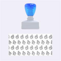 Ladybug Vector Geometric Tile Pattern Rubber Stamps (Medium)
