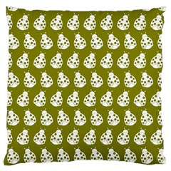 Ladybug Vector Geometric Tile Pattern Standard Flano Cushion Cases (two Sides)