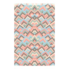 Trendy Chic Modern Chevron Pattern Shower Curtain 48  x 72  (Small)