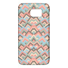 Trendy Chic Modern Chevron Pattern Galaxy S6