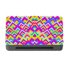 Colorful Trendy Chic Modern Chevron Pattern Memory Card Reader with CF