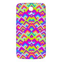 Colorful Trendy Chic Modern Chevron Pattern Samsung Galaxy Mega I9200 Hardshell Back Case