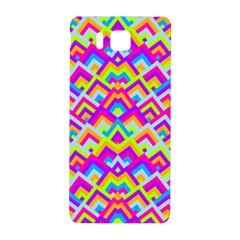 Colorful Trendy Chic Modern Chevron Pattern Samsung Galaxy Alpha Hardshell Back Case