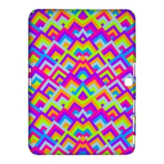 Colorful Trendy Chic Modern Chevron Pattern Samsung Galaxy Tab 4 (10.1 ) Hardshell Case