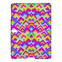 Colorful Trendy Chic Modern Chevron Pattern Samsung Galaxy Tab S (10.5 ) Hardshell Case