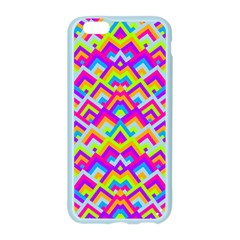 Colorful Trendy Chic Modern Chevron Pattern Apple Seamless iPhone 6 Case (Color)