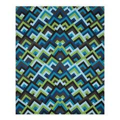 Trendy Chic Modern Chevron Pattern Shower Curtain 60  x 72  (Medium)