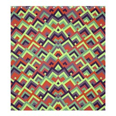 Trendy Chic Modern Chevron Pattern Shower Curtain 66  x 72  (Large)