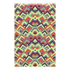 Trendy Chic Modern Chevron Pattern Shower Curtain 48  x 72  (Small)