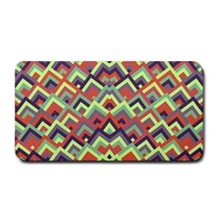 Trendy Chic Modern Chevron Pattern Medium Bar Mats