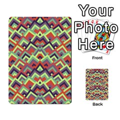 Trendy Chic Modern Chevron Pattern Multi-purpose Cards (Rectangle)