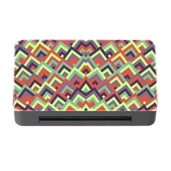 Trendy Chic Modern Chevron Pattern Memory Card Reader With Cf