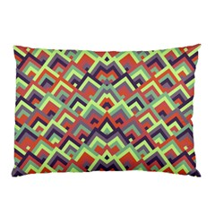 Trendy Chic Modern Chevron Pattern Pillow Cases (Two Sides)
