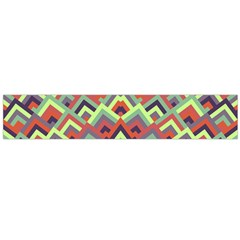 Trendy Chic Modern Chevron Pattern Flano Scarf (Large)