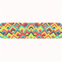 Trendy Chic Modern Chevron Pattern Large Bar Mats