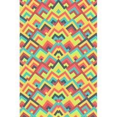 Trendy Chic Modern Chevron Pattern 5 5  X 8 5  Notebooks