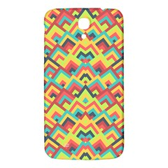 Trendy Chic Modern Chevron Pattern Samsung Galaxy Mega I9200 Hardshell Back Case