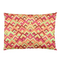 Trendy Chic Modern Chevron Pattern Pillow Cases
