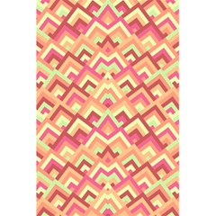 Trendy Chic Modern Chevron Pattern 5.5  x 8.5  Notebooks