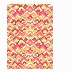 Trendy Chic Modern Chevron Pattern Small Garden Flag (Two Sides)
