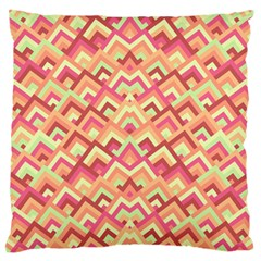 Trendy Chic Modern Chevron Pattern Standard Flano Cushion Cases (two Sides)